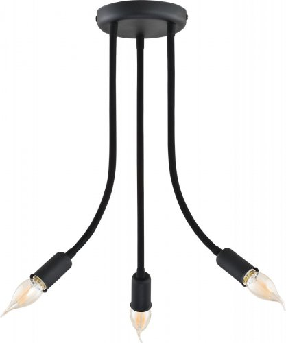 Люстра лофт TK Lighting Flexy Black 2138