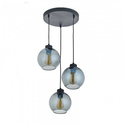Люстра подвес лофт TK Lighting CUBUS Graphite 2832